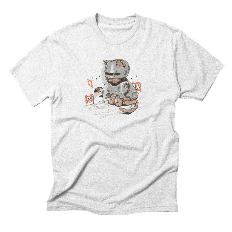 Robocat Men's Triblend T-shirt by elanharris's Artist Shop