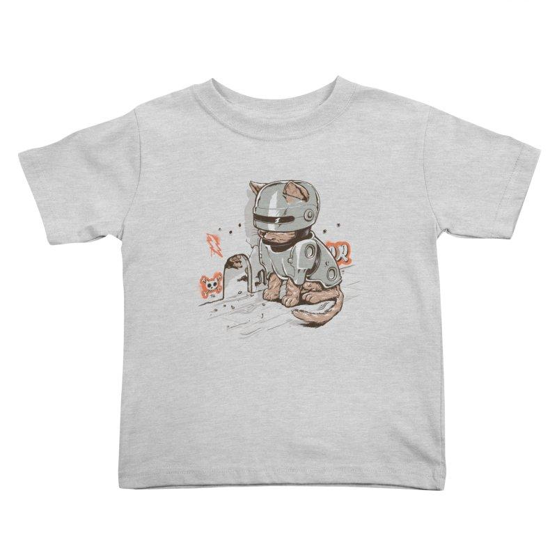 Robocat Kids Toddler T-Shirt by elanharris's Artist Shop