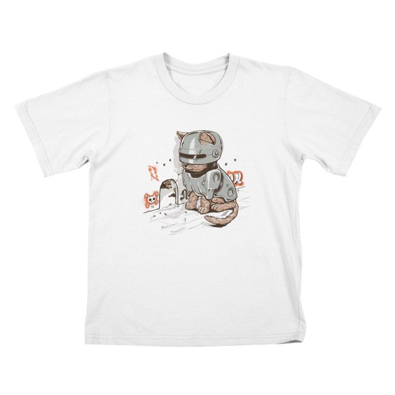 Robocat Kids T-shirt by elanharris's Artist Shop
