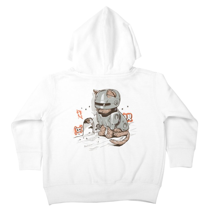 Robocat Kids Toddler Zip-Up Hoody by elanharris's Artist Shop