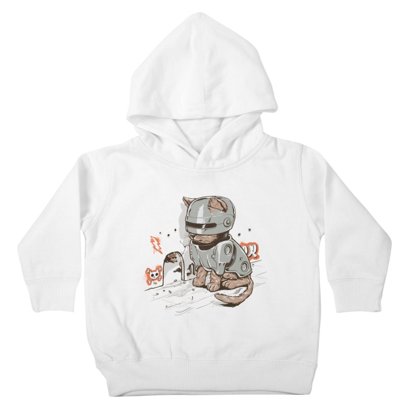 Robocat Kids Toddler Pullover Hoody by elanharris's Artist Shop