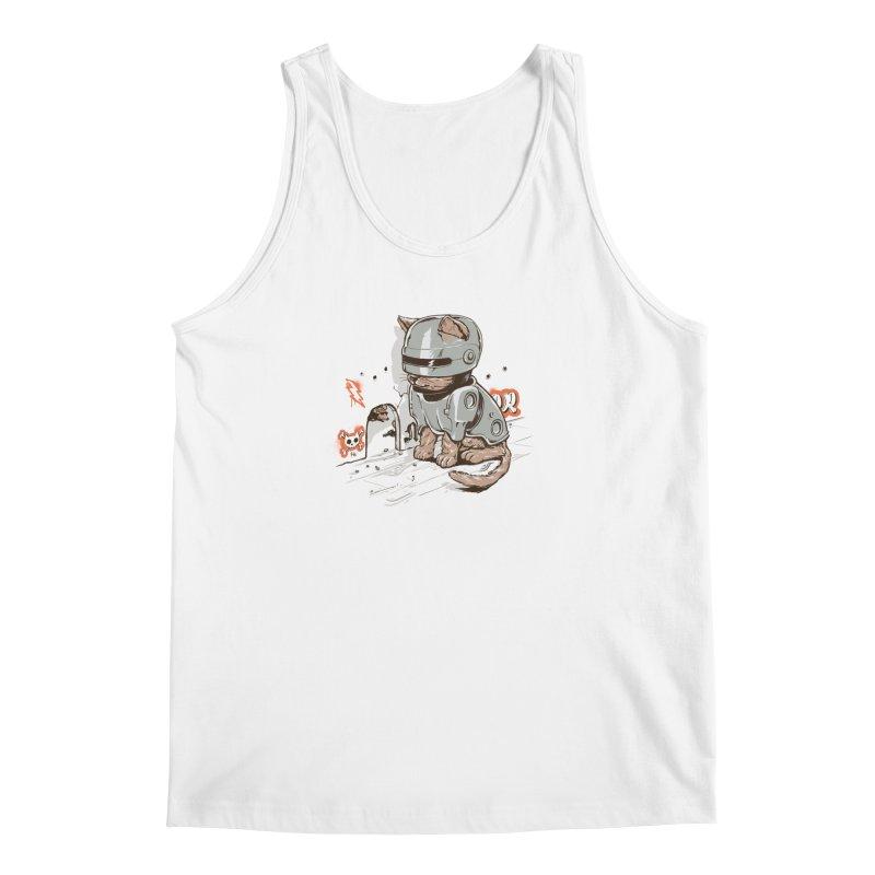 Robocat Men's Tank by elanharris's Artist Shop