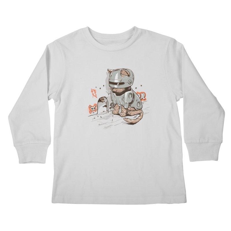 Robocat Kids Longsleeve T-Shirt by elanharris's Artist Shop