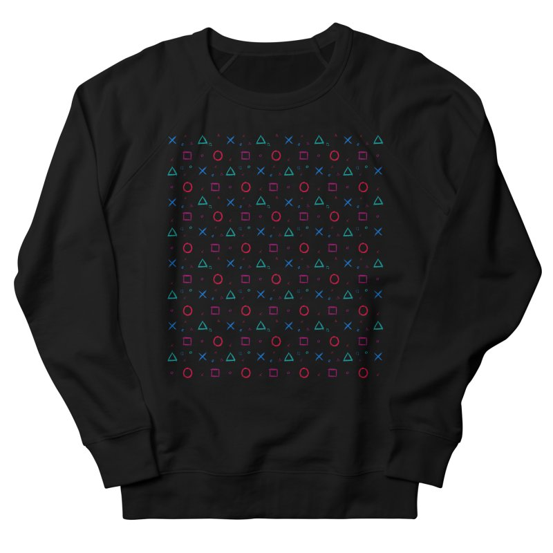 Play Now! Men's French Terry Sweatshirt by Elcorette