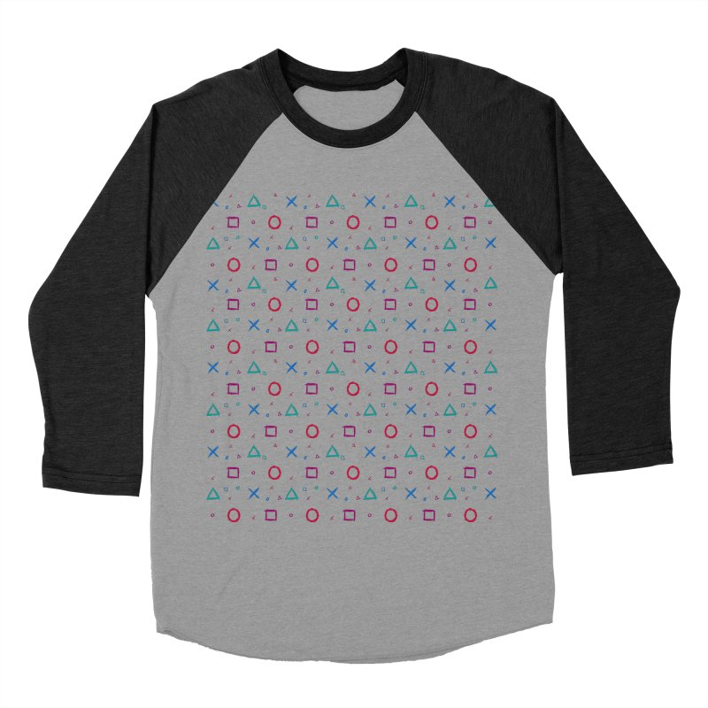 Play Now! Men's Baseball Triblend Longsleeve T-Shirt by Elcorette