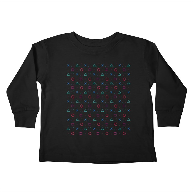 Play Now! Kids Toddler Longsleeve T-Shirt by Elcorette