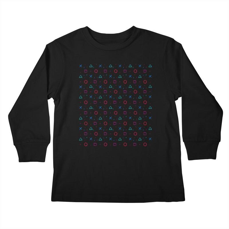 Play Now! Kids Longsleeve T-Shirt by Elcorette