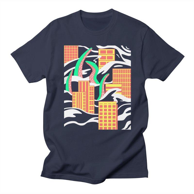 Flooded Men's Regular T-Shirt by Elcorette