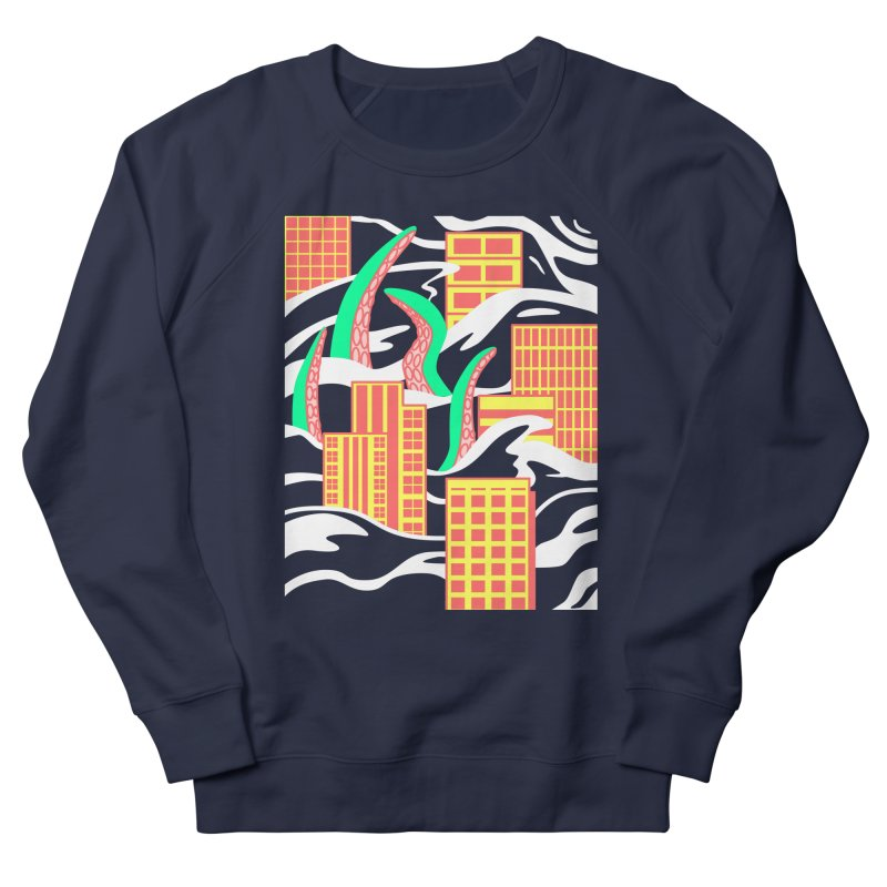 Flooded Men's French Terry Sweatshirt by Elcorette