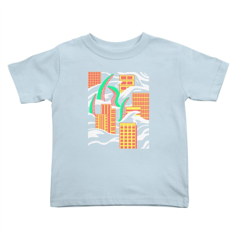 Flooded Kids Toddler T-Shirt by Elcorette