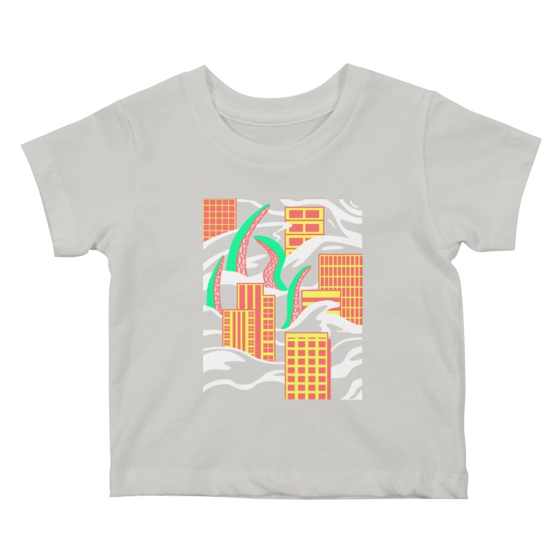 Flooded Kids Baby T-Shirt by Elcorette