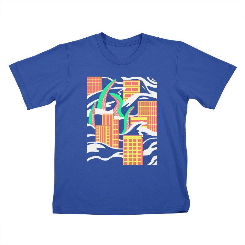 Flooded Kids T-Shirt by Elcorette