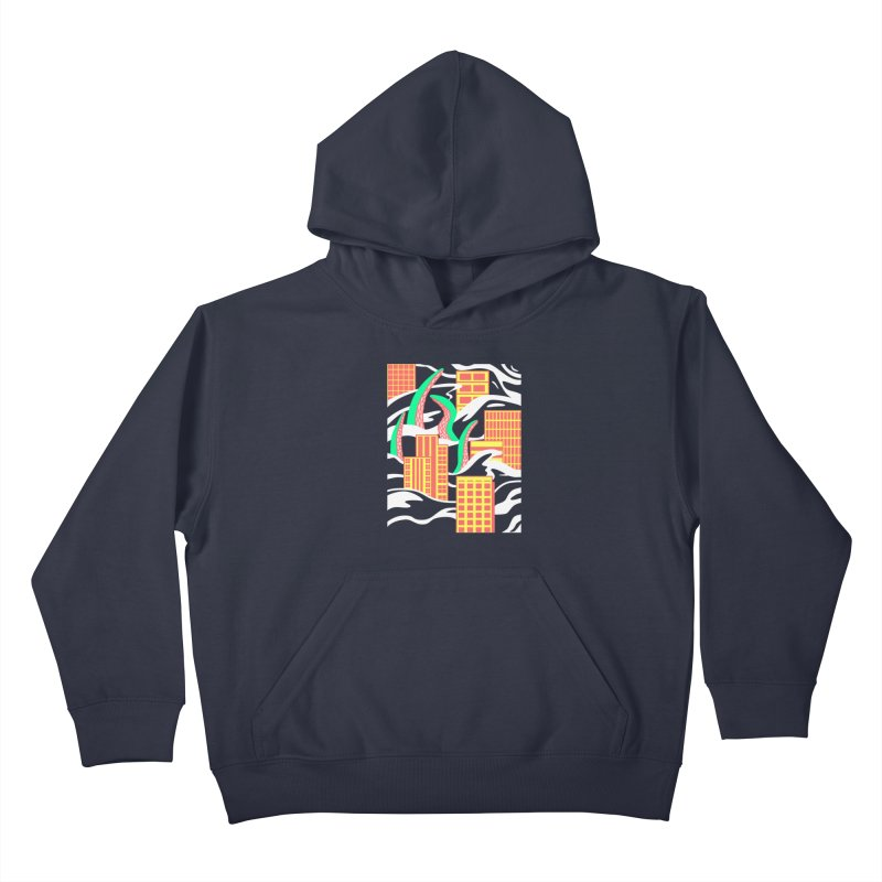 Flooded Kids Pullover Hoody by Elcorette