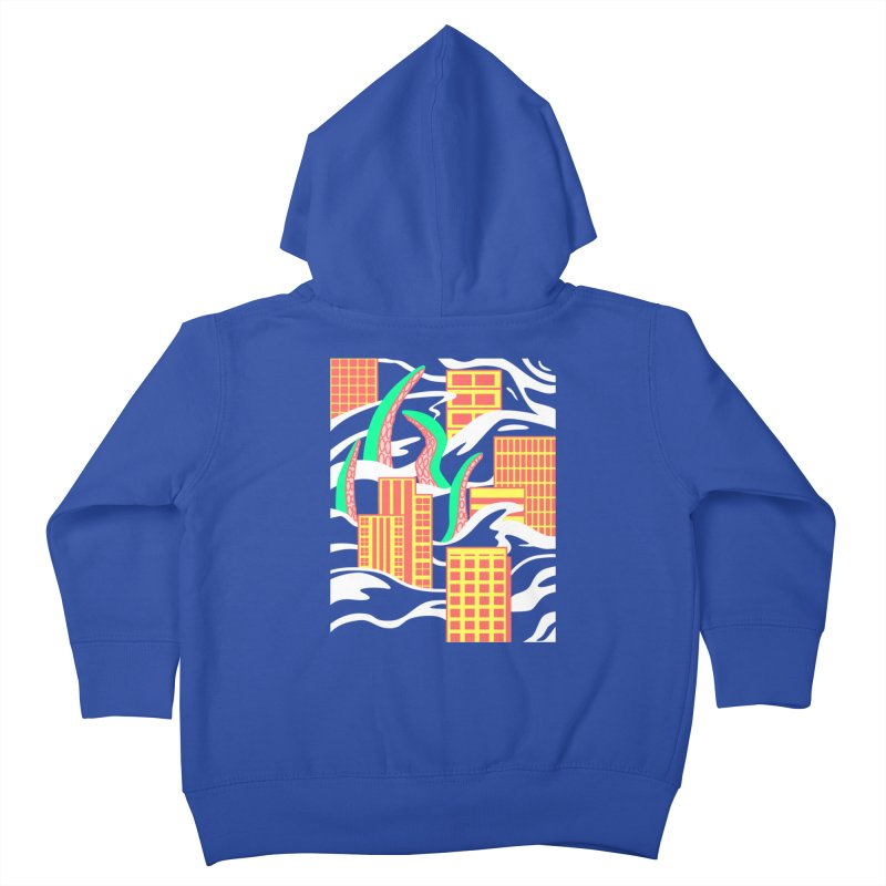 Flooded Kids Toddler Zip-Up Hoody by Elcorette
