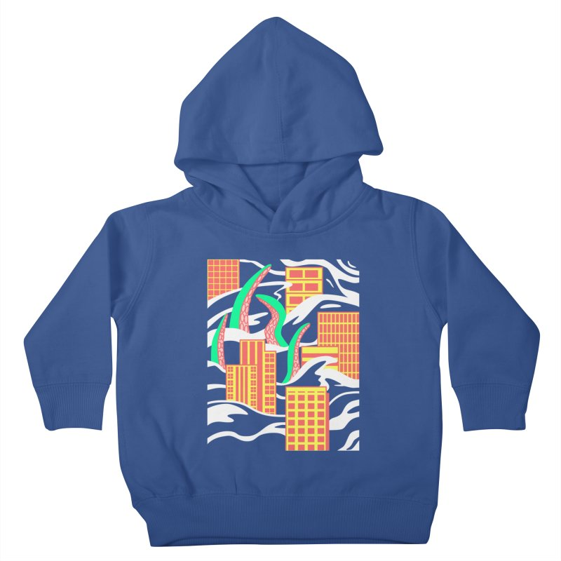 Flooded Kids Toddler Pullover Hoody by Elcorette