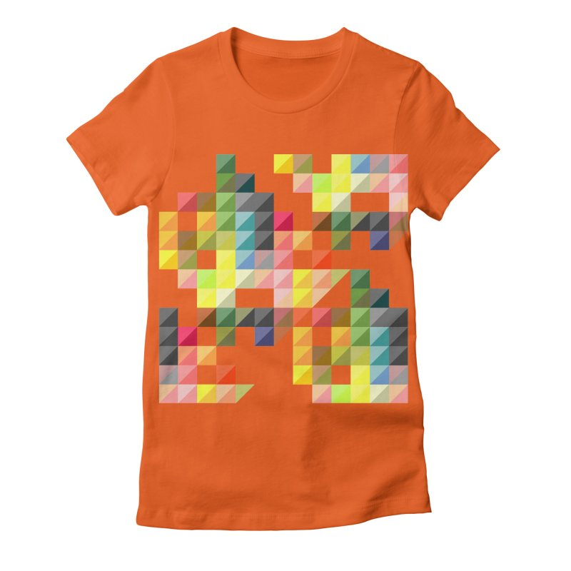 Good Afternoon Women's Fitted T-Shirt by Elcorette