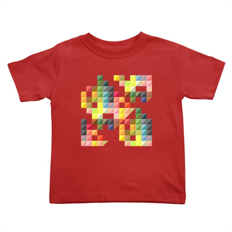 Good Afternoon Kids Toddler T-Shirt by Elcorette
