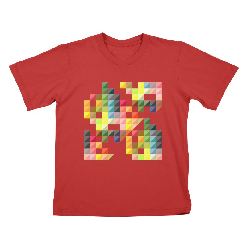 Good Afternoon Kids T-shirt by Elcorette