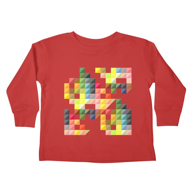Good Afternoon Kids Toddler Longsleeve T-Shirt by Elcorette