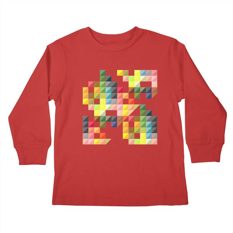 Good Afternoon Kids Longsleeve T-Shirt by Elcorette