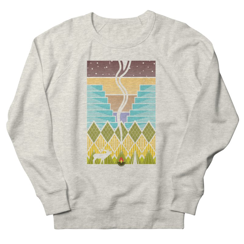 Night Camping Women's Sweatshirt by Elcorette