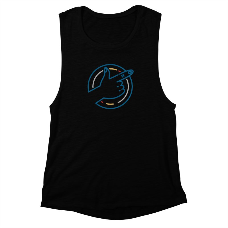 Check Me Out Women's Muscle Tank by Elcorette