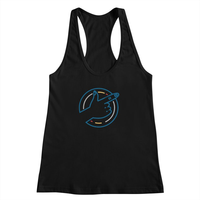 Check Me Out Women's Racerback Tank by Elcorette