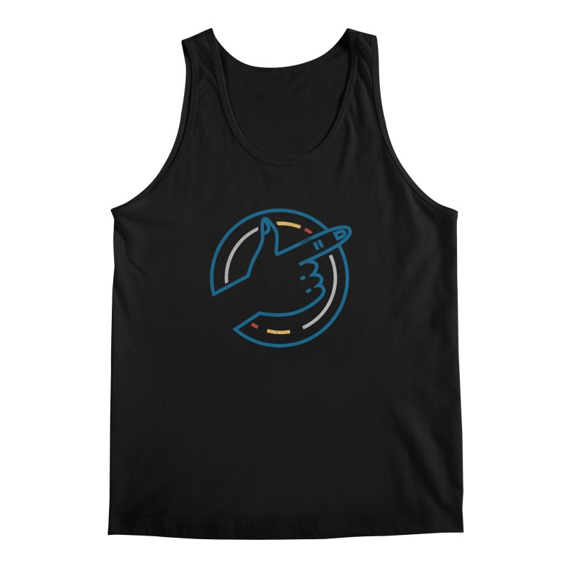 Check Me Out Men's Regular Tank by Elcorette
