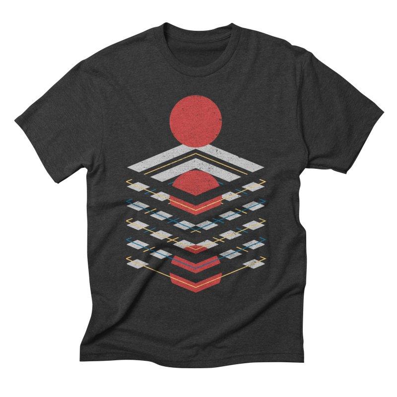 Unboxed Men's Triblend T-shirt by Elcorette