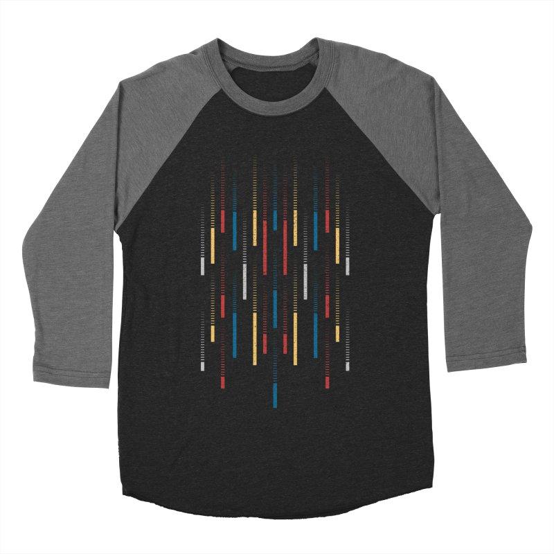 Raindrops Women's Baseball Triblend T-Shirt by Elcorette