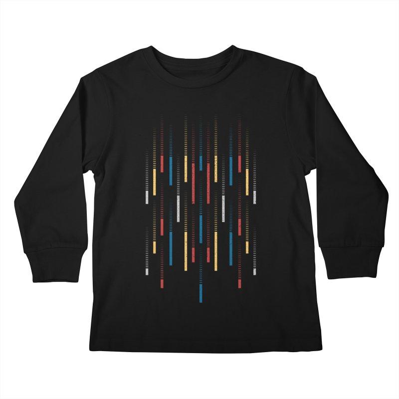 Raindrops Kids Longsleeve T-Shirt by Elcorette
