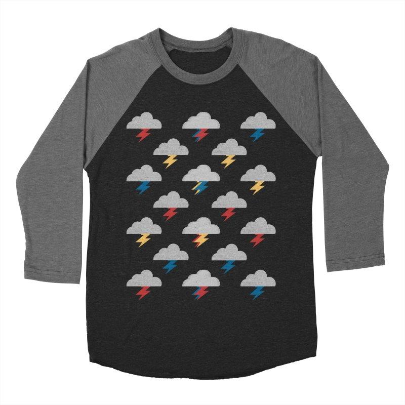 Thunderclouds Women's Baseball Triblend T-Shirt by Elcorette