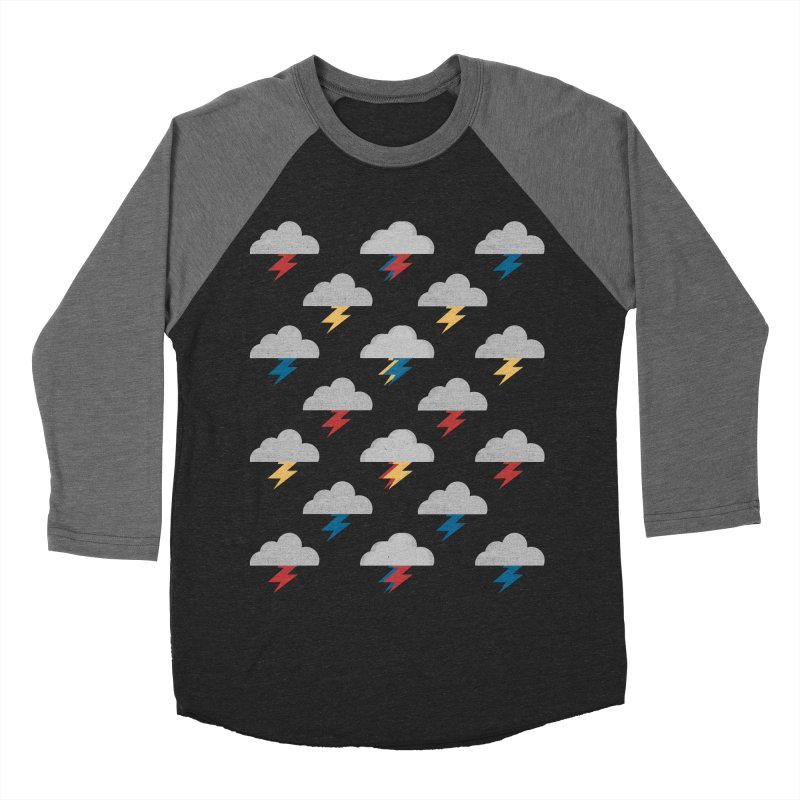 Thunderclouds Men's Baseball Triblend T-Shirt by Elcorette