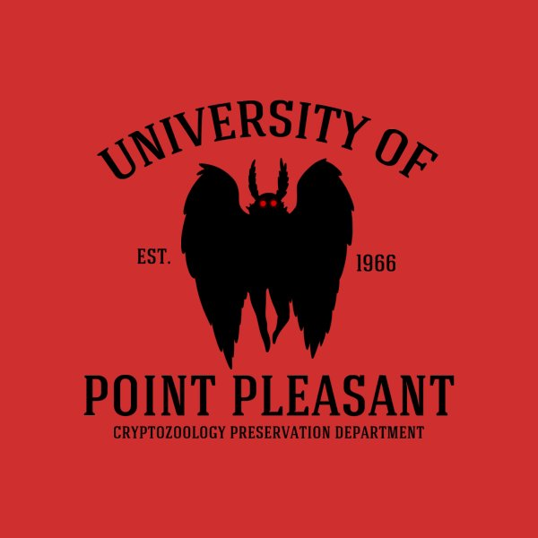 image for University of Point Pleasant - Black Font