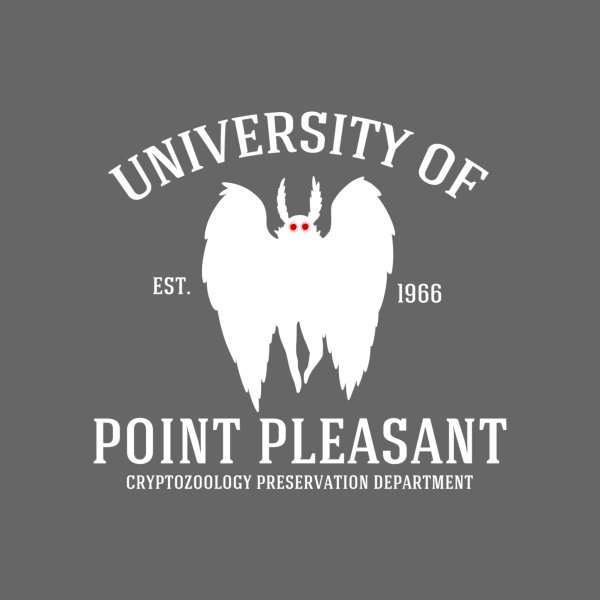image for University of Point Pleasant - White Font