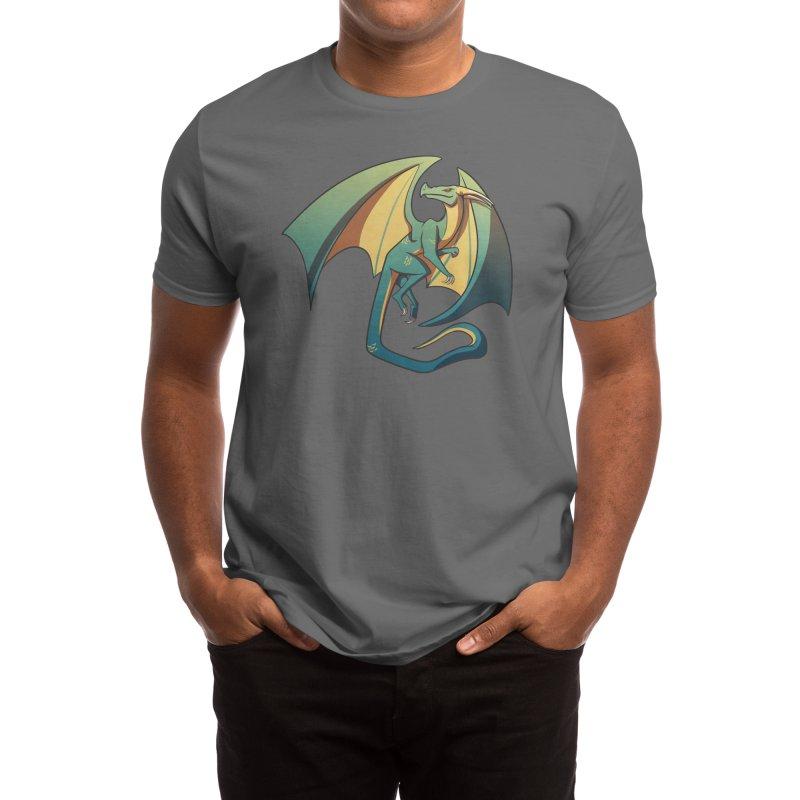 Dragon Men's T-Shirt by Eldritch Rach's Artist Shop