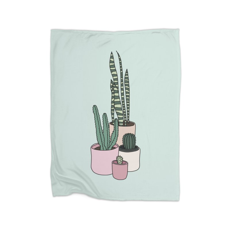 Cactus by Elebea Home Blanket by elebea