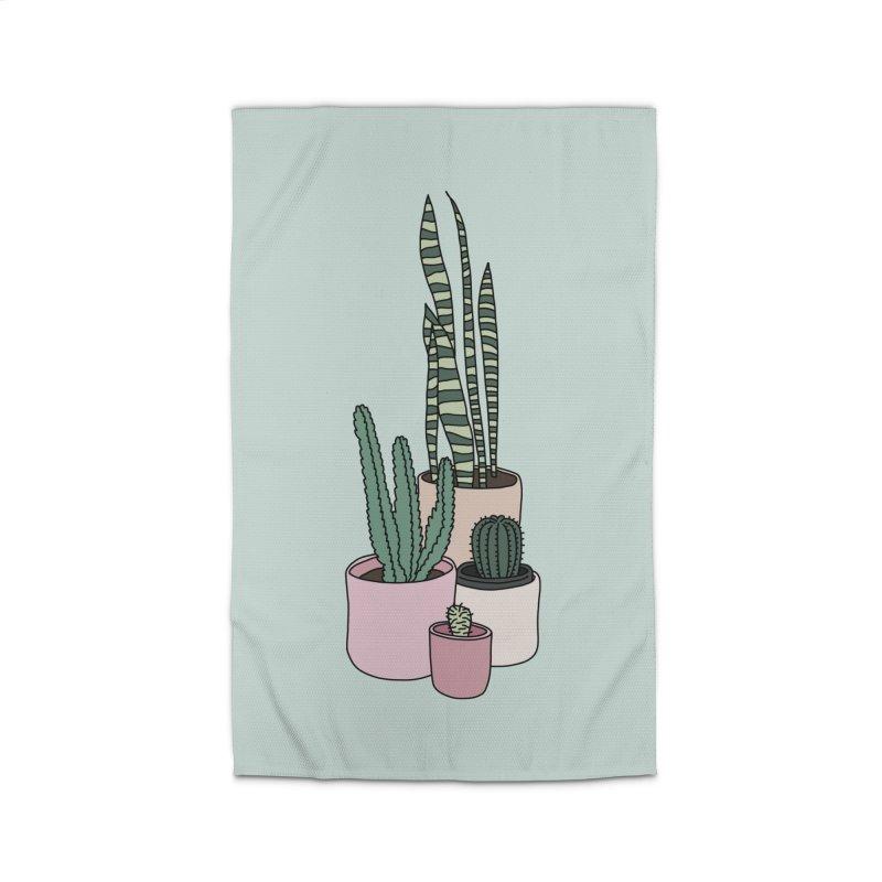 Cactus by Elebea Home Rug by elebea