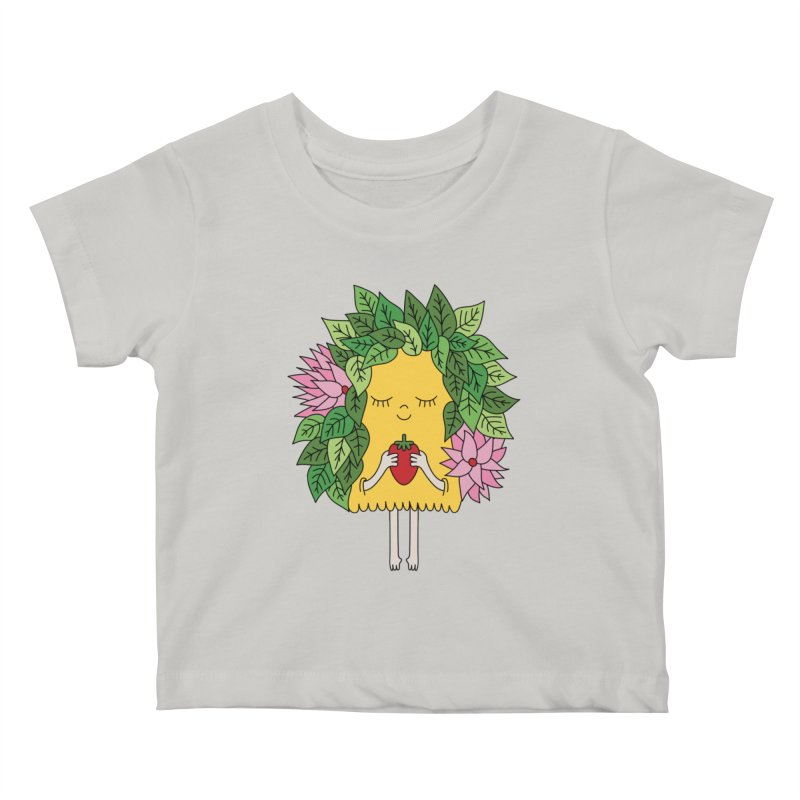 Mother nature by Elebea Kids Baby T-Shirt by elebea