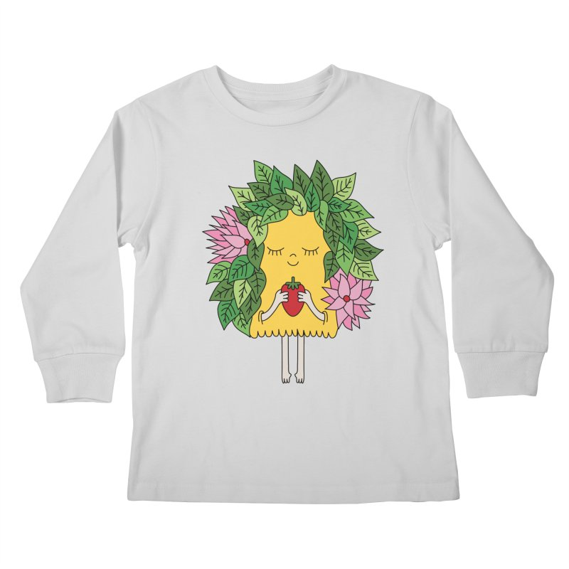 Mother nature by Elebea Kids Longsleeve T-Shirt by elebea
