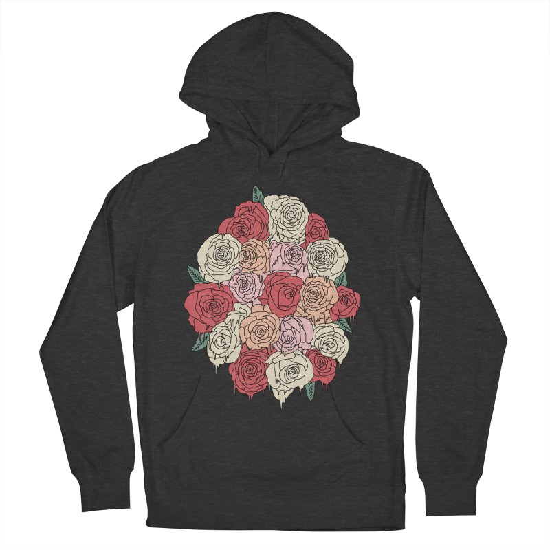 Melting roses by Elebea Men's Pullover Hoody by elebea