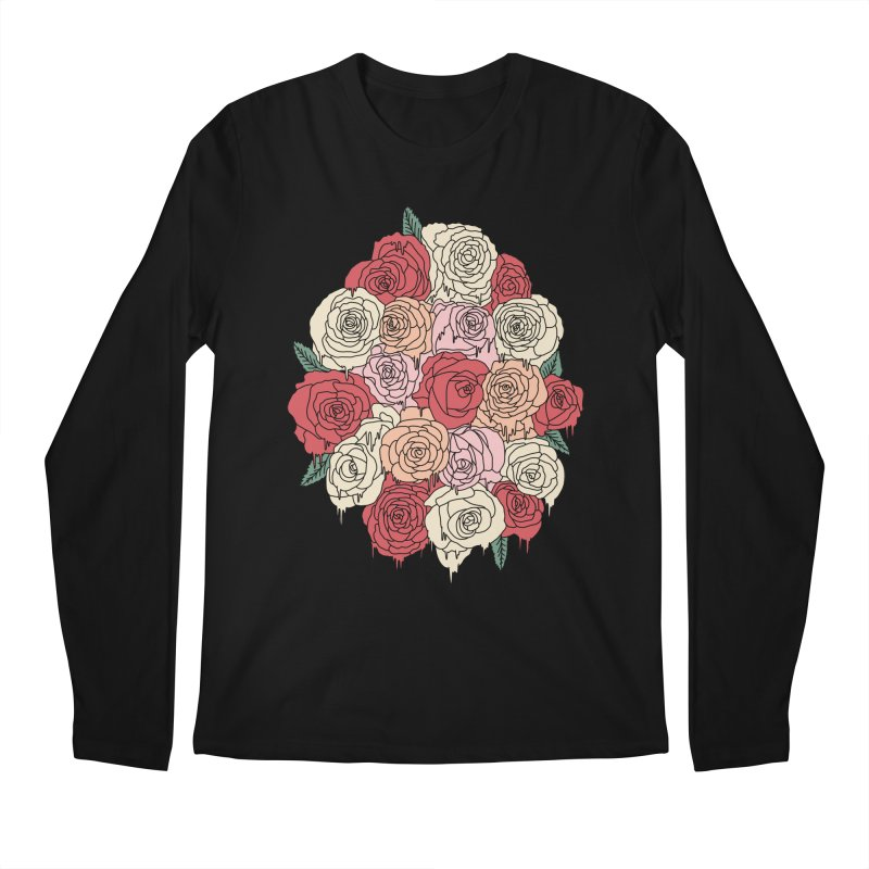 Melting roses by Elebea Men's Longsleeve T-Shirt by elebea
