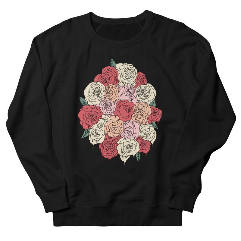 Melting roses by Elebea Men's Sweatshirt by elebea