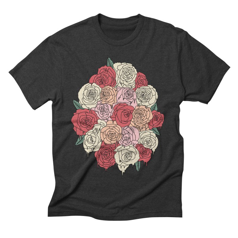 Melting roses by Elebea Men's Triblend T-shirt by elebea