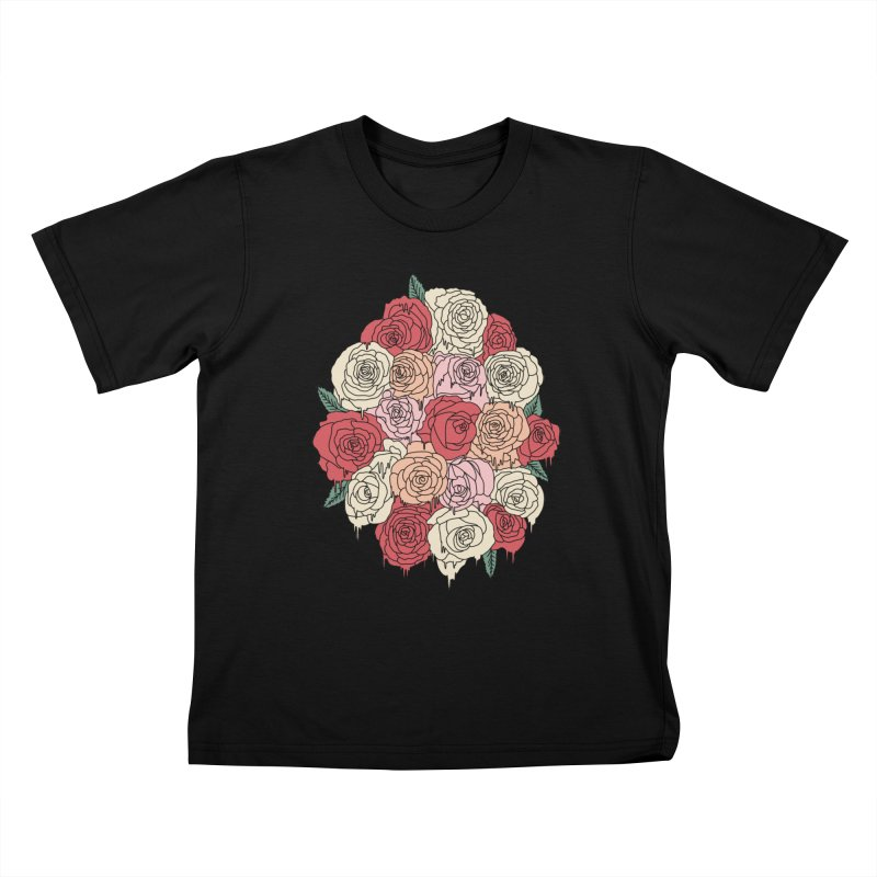 Melting roses by Elebea Kids T-shirt by elebea