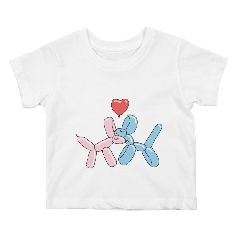 Balloon dogs by Elebea Kids Baby T-Shirt by elebea