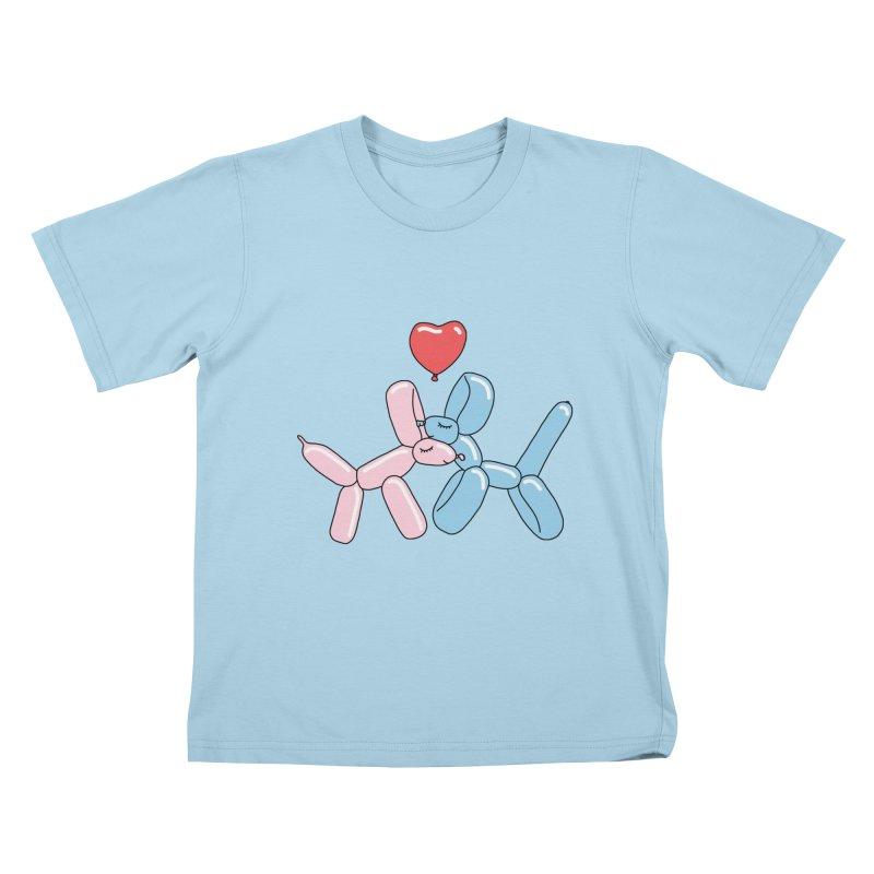 Balloon dogs by Elebea Kids T-shirt by elebea