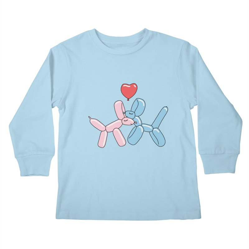 Balloon dogs by Elebea Kids Longsleeve T-Shirt by elebea