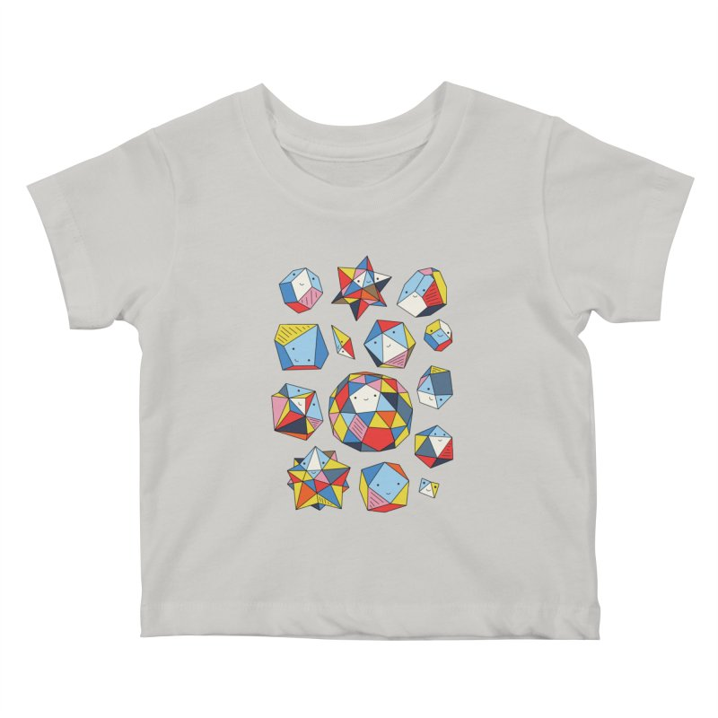 Power rocks by Elebea Kids Baby T-Shirt by elebea