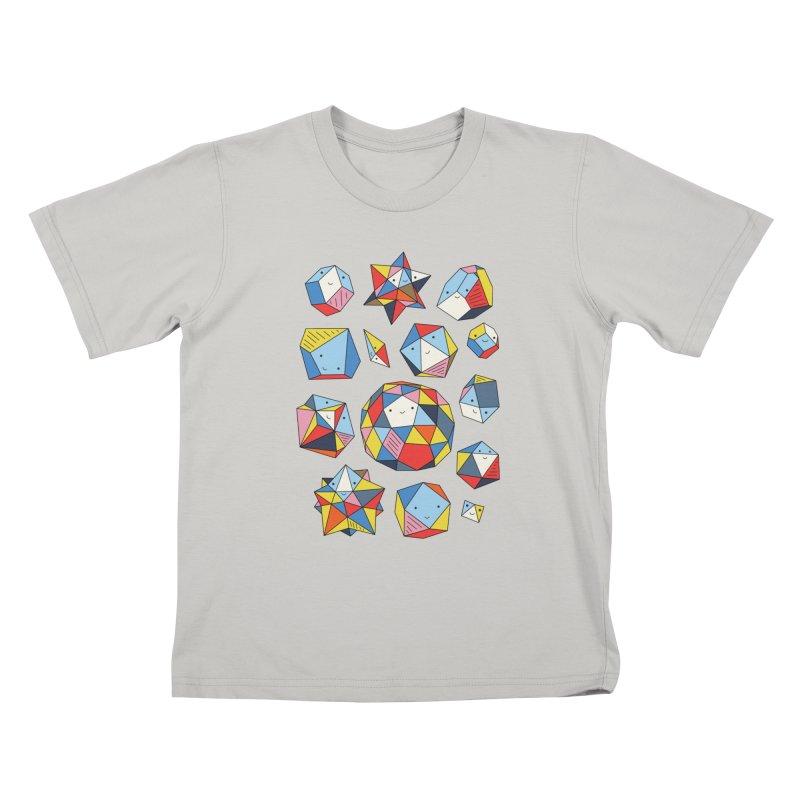 Power rocks by Elebea Kids T-shirt by elebea